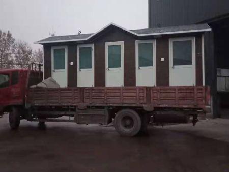 景区移动厕所发货