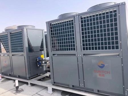 空气能热泵机组的噪声源分析