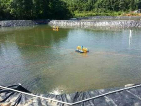 為什么魚塘要使用土工膜進行防水處理