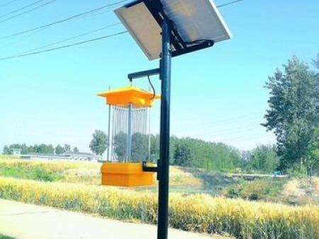 一盏太阳能杀虫灯可以管多少亩地?