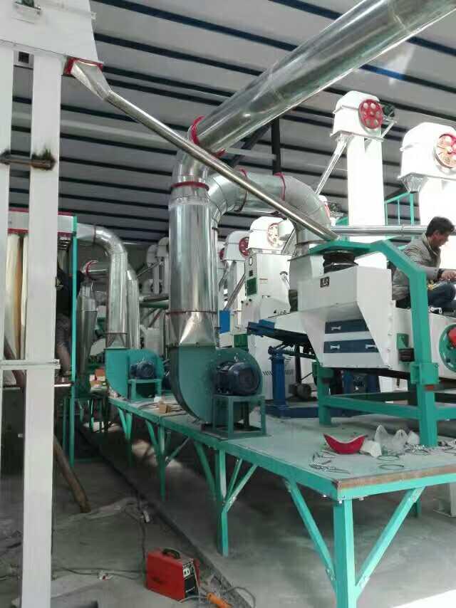 30吨大米加工机械设备