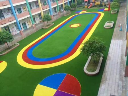 幼儿园地面用EPDM+人造草有什么好处
