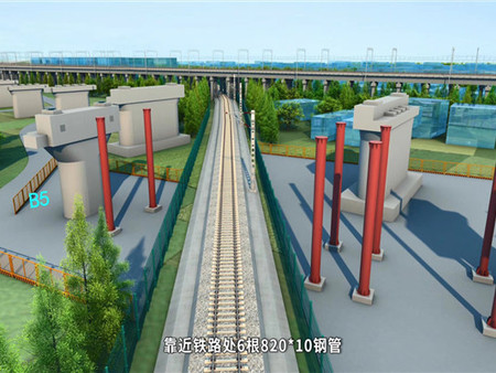 大型工程施工动画中镜头的表现方法