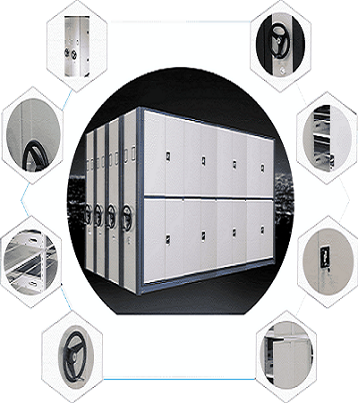 密集櫃結構圖