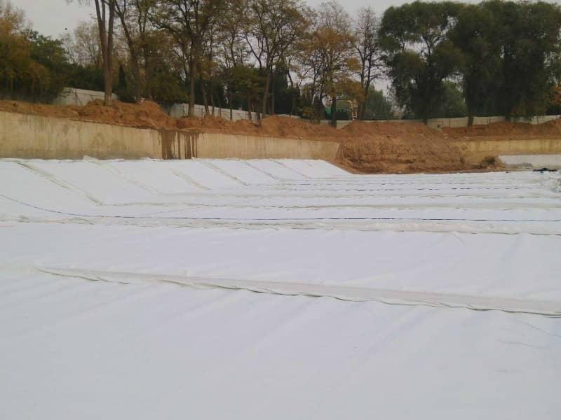 垃圾填埋場防滲膜施工