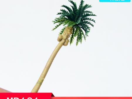 优良塑料建筑沙盘模型树木定做批发 模型椰子树规格