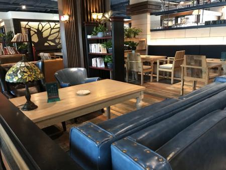西餐咖啡厅家具沙发