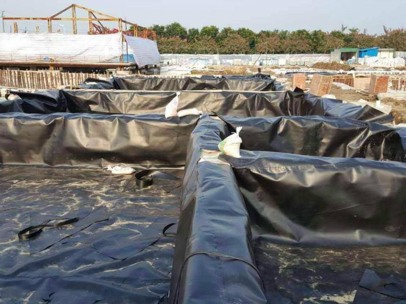 hdpe防滲土工膜的施工程序