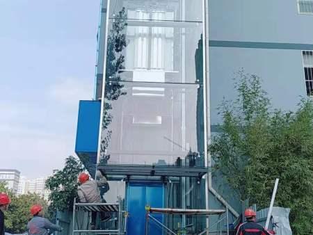 河南南陽輕舟裝飾公司電梯井道項目