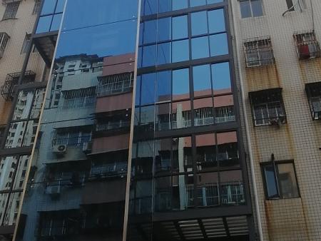 南陽舒心園老小區電梯加裝井道項目