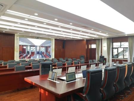 宁夏LED显示屏,银川LED显示屏-自治区政法委报告厅改成自治区政法委智慧指挥中心