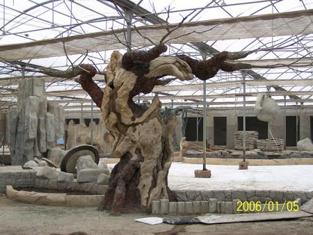 甘肃仿真树现在的发展与运用已经是很广泛起来了