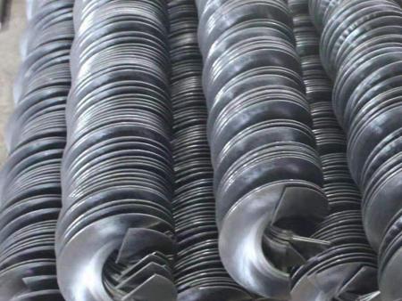 连续螺旋叶片