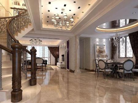 別墅客廳裝修設計要點及風水注意事項