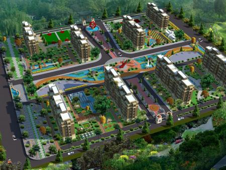 甘肃室内外景观设计公司浅谈景观绿化的重要性