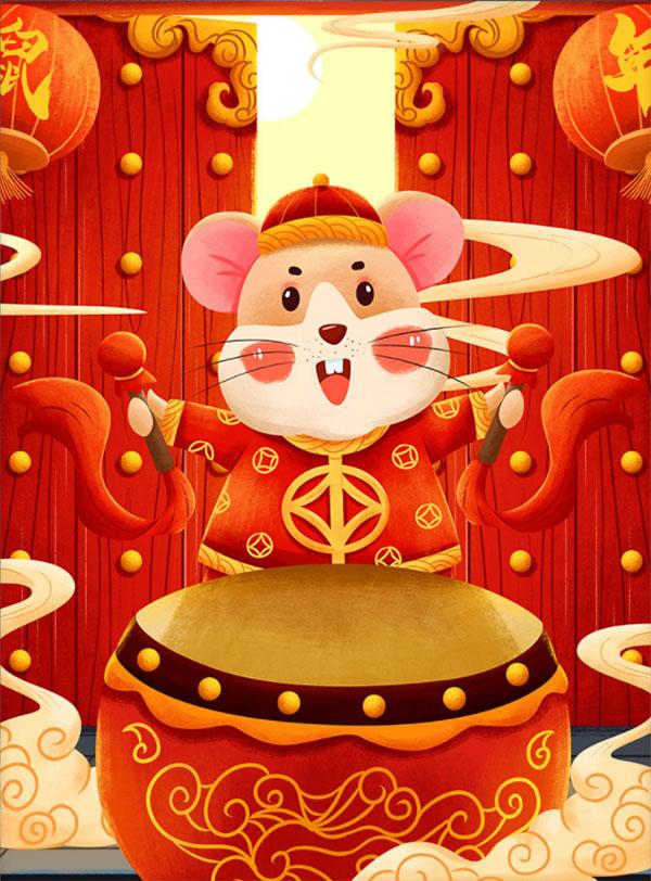 山東生物質鍋爐廠家恭賀大家鼠年快樂