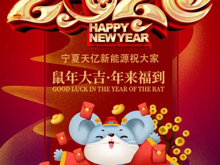 寧夏天億新能源科技有限公司祝您2020鼠年快樂!