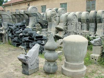仿古青磚的生產工藝與產品特點