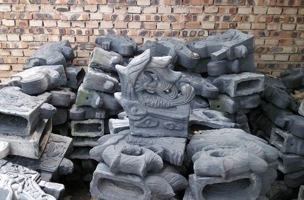 山東古建磚瓦