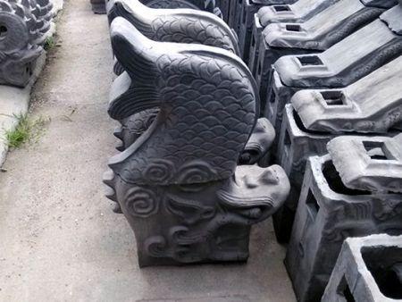 使用仿古瓦對古建筑修補更具有歷史韻味