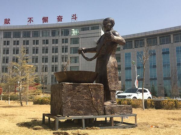 甘肃景观雕塑中浮雕的表现形式