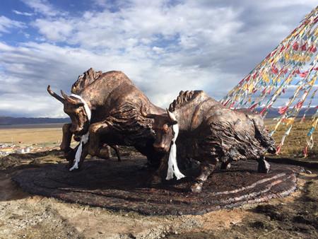 兰州景观雕塑-现代景观雕塑