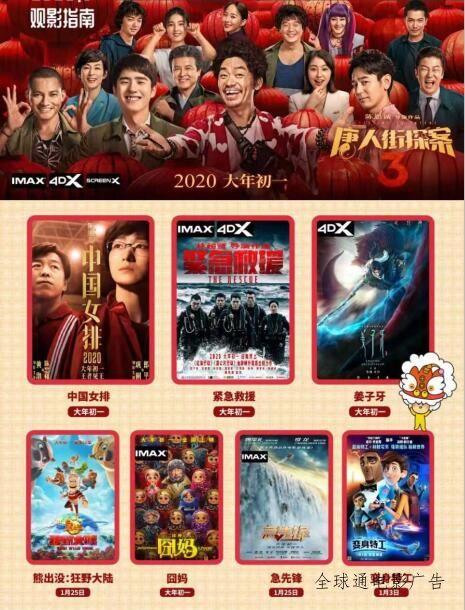 6部大片挤爆2020年电影春节档:大年初一,你想看哪部?