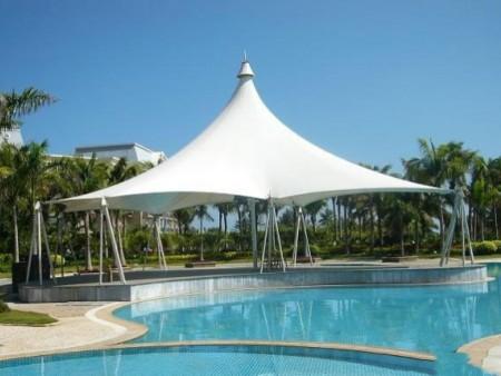 泳池遮阳膜结构