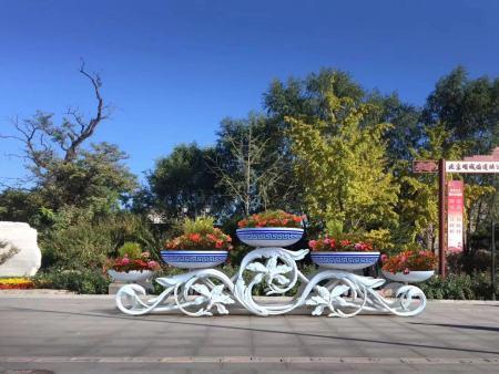 花箱設計|青海花箱設計安裝當選青海SA36沙龙園林景觀