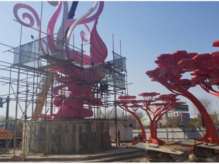 关于不锈钢雕塑制作工艺流程就由兰州园林景观工程公司介绍