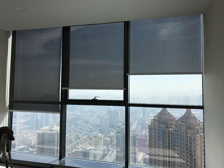 兰州办公室窗帘哪种款式好 办公室窗帘长度做到多少合适