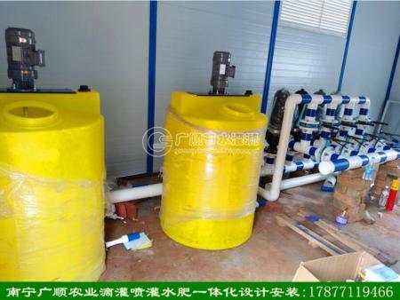 南宁广顺滴灌肥液一体化灌溉设备