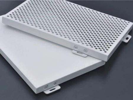 常规穿孔铝单板