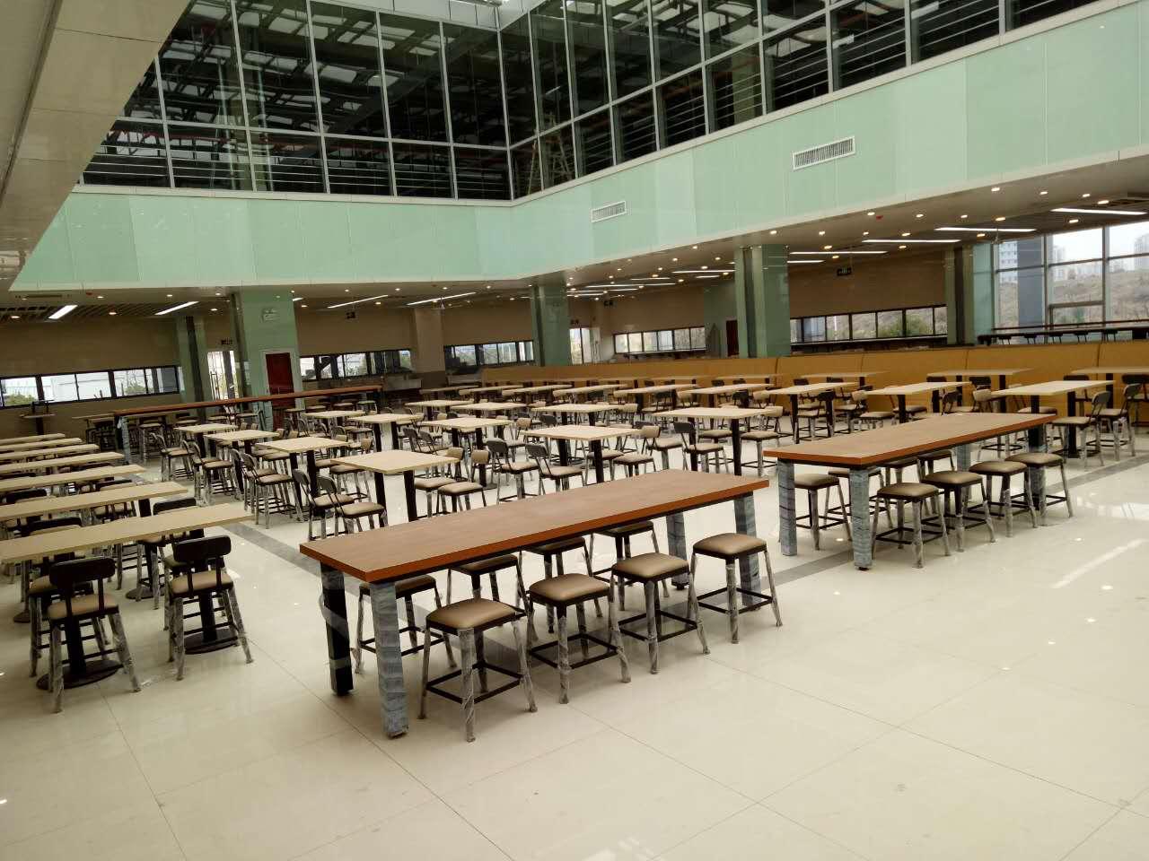 学生食堂餐桌价格 合肥哪里能买到高性价美食城家具