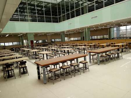 学生食堂餐桌价格|合肥哪里能买到高性价美食城家具