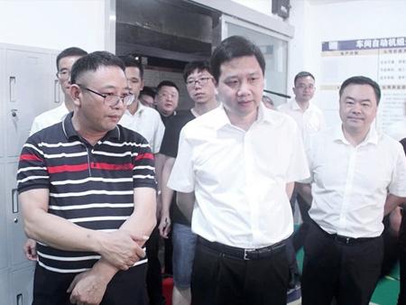 乐清市方晖市长一行到浙江创奇电气有限公司调研