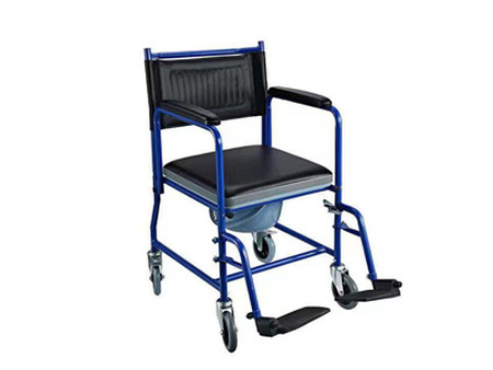Transport Bedside Commode Chair With Castors CC75034