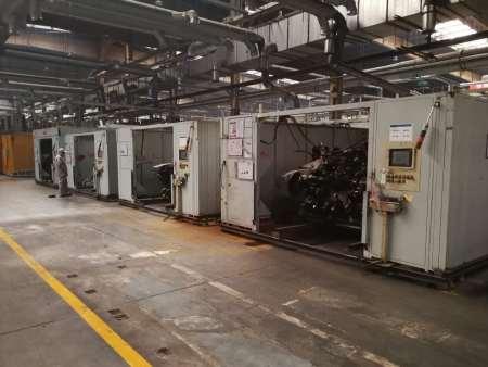 富奧威泰克汽車底盤系統有限公司X80設備搬遷現場施工圖片