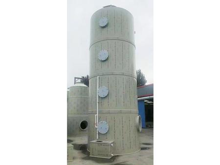 喷淋塔能够治理哪些颗粒污染物