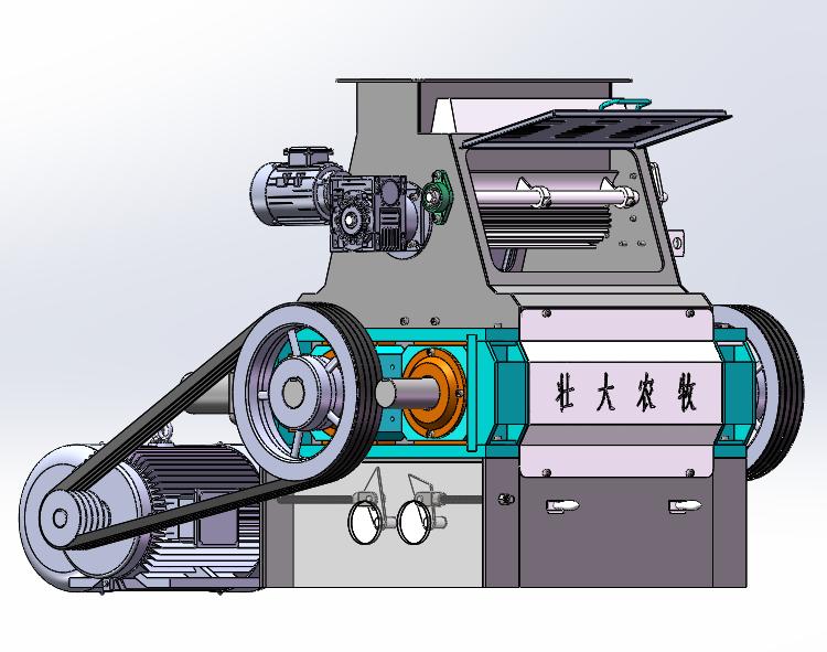 新款小型玉米压片机