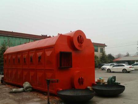 SZL双锅筒链条炉排锅炉