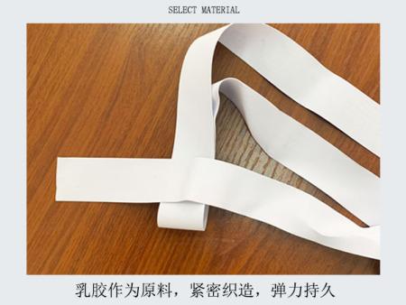 高弹乳胶丝的制作方法