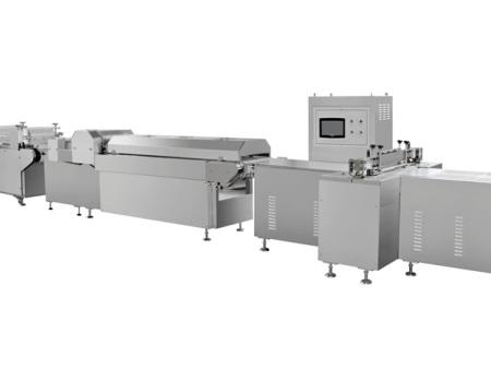 上海阿兵机械沙琪玛生产线/沙琪玛切块机