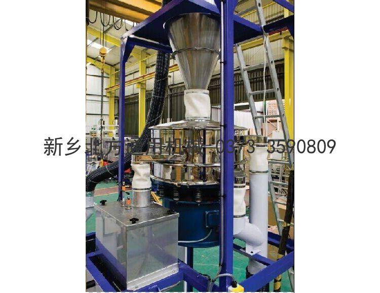 Negative pressure ultrasonic screen