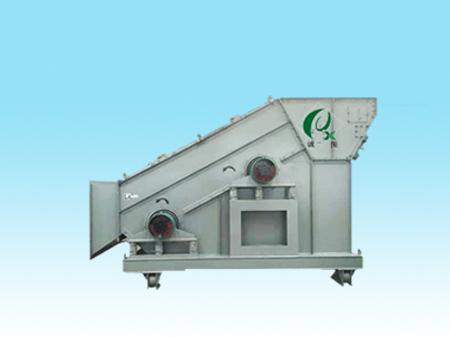 诚信振动生产一种新型的矿粉专用环保给料整合筛