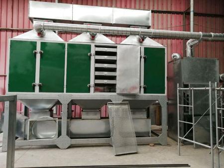 催化燃烧废气处理设备的工作原理