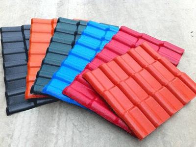 青海树脂瓦厂家-树脂瓦颜色为什么会变淡?