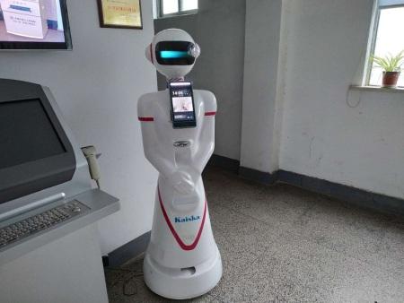 科奥自助终端机的延伸产品-凯士卡体温检测机器人