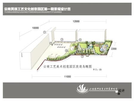 云南民族工艺文化创意园区第一期景观设计图