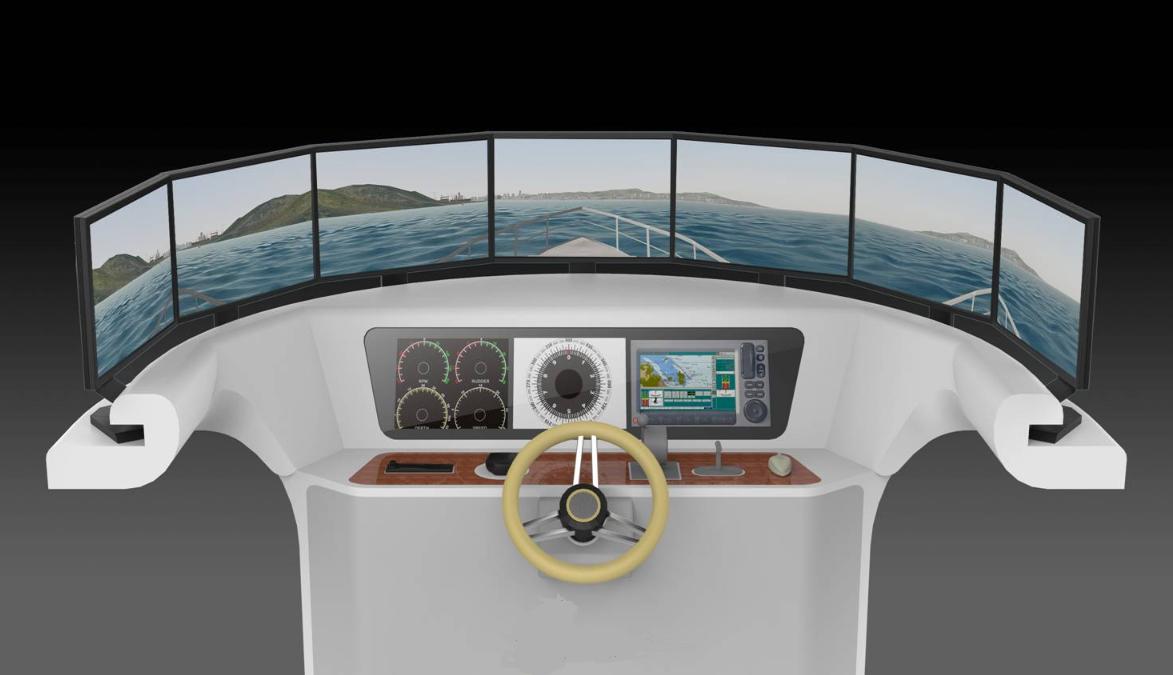 七通道游艇模拟器设备总体性能